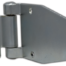 Industrial aluminium hinges available in zinc